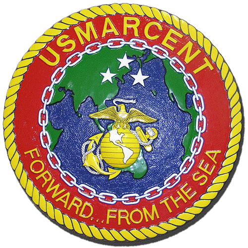 USMC Central Command (MARCENT) Seal Plaque