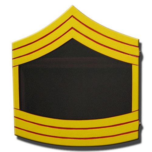 USMC E8 Retirement / Shadow Box Colored