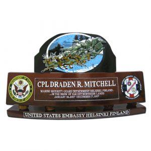 USMC ESG Desk Nameplate