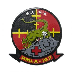 USMC-HMLA 167 Seal