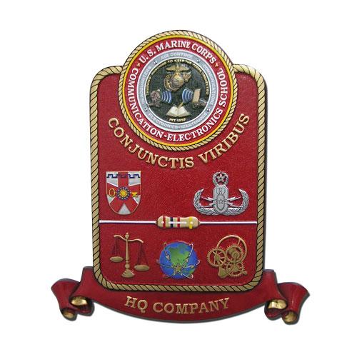USMC HQ Company Emblem