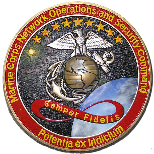 USMC Network Operations and Security Command Seal