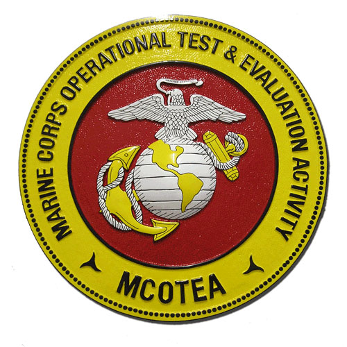 Marine Corps Operational Test & Evaluation Activity Seal