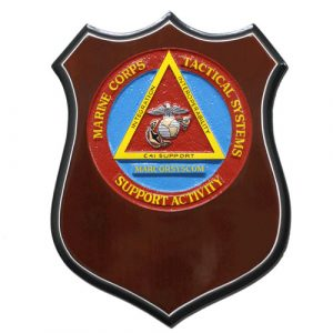 USMC Tactical System Support Activity Plaque