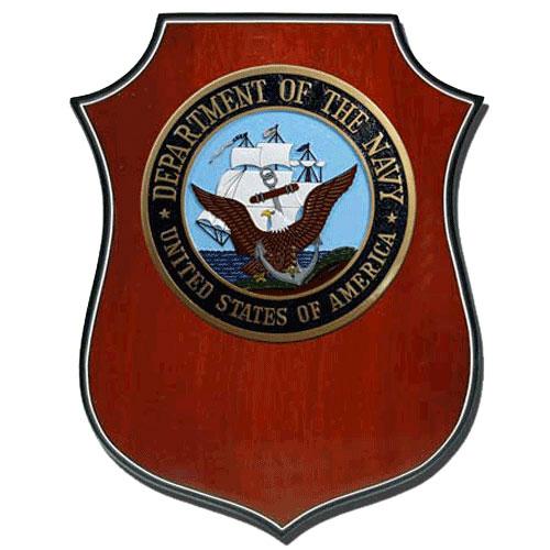 US Navy USN Plaque