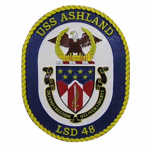 USS LSD 48 Ashland Emblem