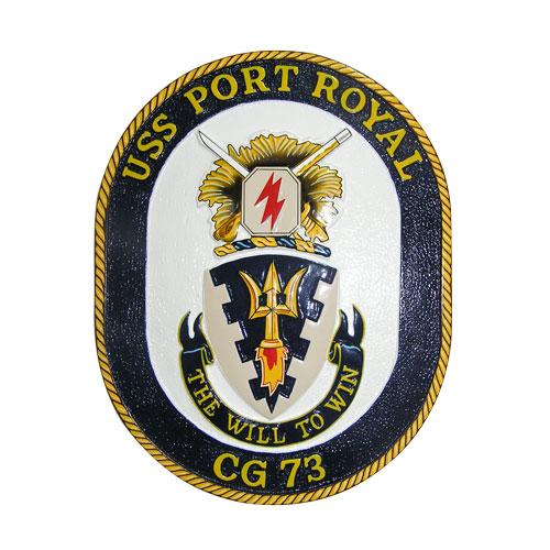 USS Port Royal CG-73 Emblem