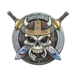 VFMA (AW) 225 Deployment Plaque