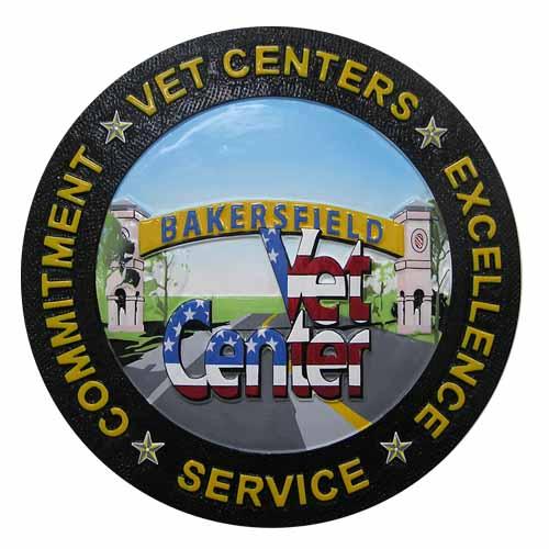 Bakersfield Veterans Center Seal