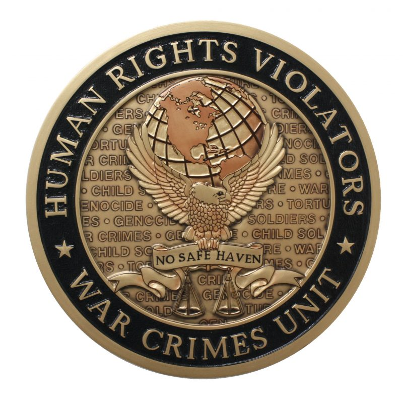 War Crimes Unit Seal