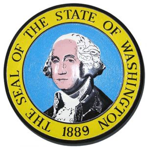 Washington State Seal Plaque