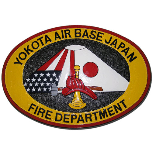 Yokota Air Base Fire Department Emblem