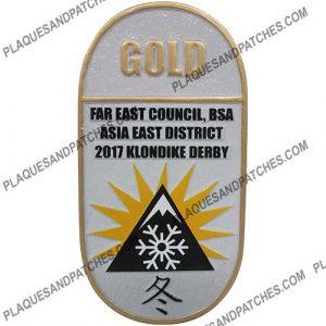 Asia East District Plaque (Gold)