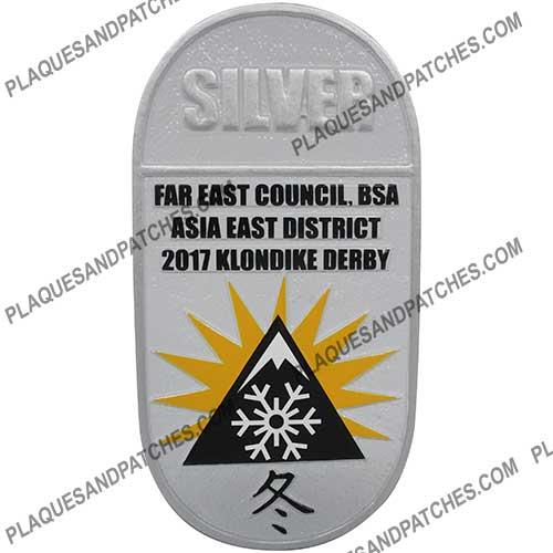 Asia East District Plaque (Silver)
