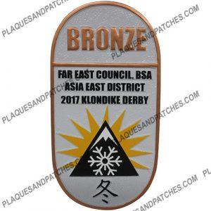 Asia East District Plaque (Bronze)
