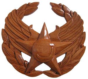 USAF Commander's Insignia Plaque